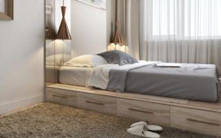 Подбираем кровать для миниатюрной спальни