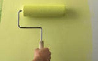 Как обработать стены для нанесения краски?