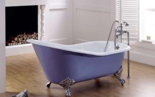 Чугунная ванна в квартире