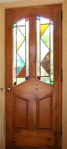 Филенчатая дверь - фото.