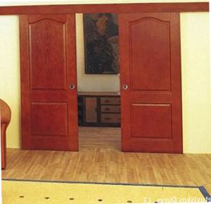 Раздвижные двери.