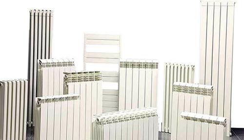 Алюминиевые радиаторы отопления - фото.