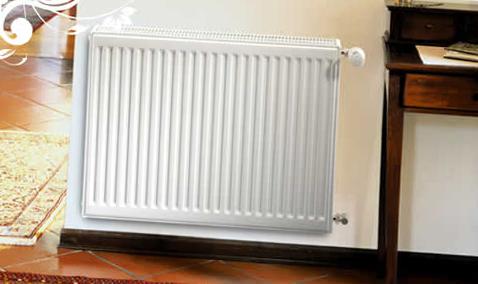 Панельный стальной радиатор - фото.