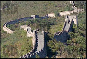 китайская стена - фото