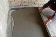 Цементная стяжка пола - фотография №1