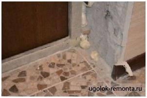 Как сделать откосы входной двери? - фото 5