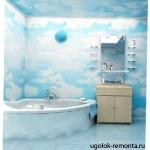 Установка ПВХ панелей в ванной комнате