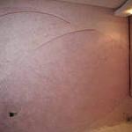Декоративное покрытие поверхности стены