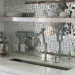 Керамическая мозаика как креативный способ оформления фартука кухни
