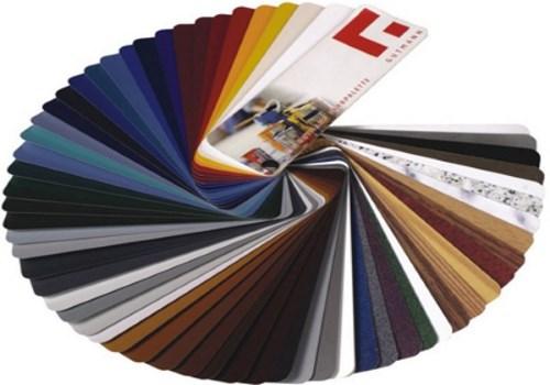 Цветовая гамма алюминиевых профилей