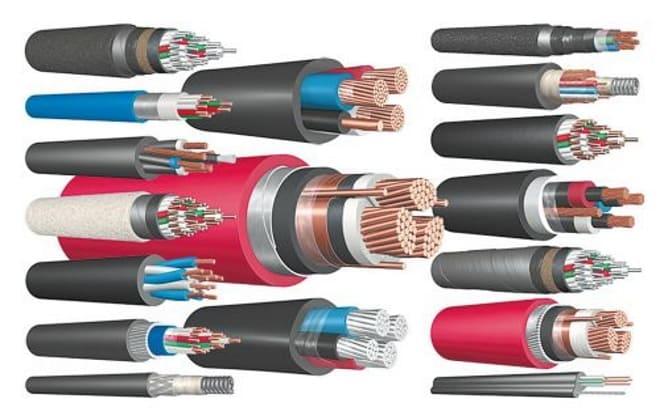 Как выглядят силовые кабели