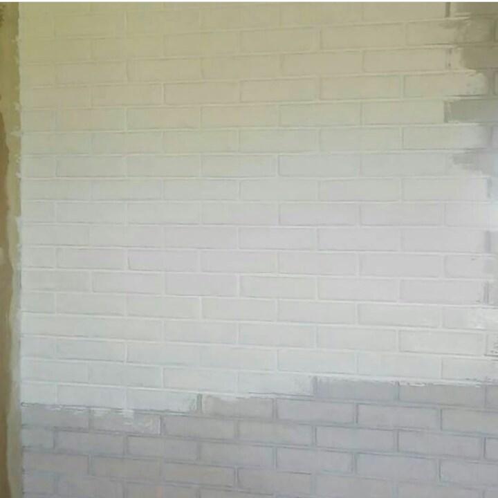 Кирпичная стена своими руками 6
