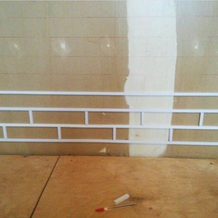 Кирпичная стена своими руками 1