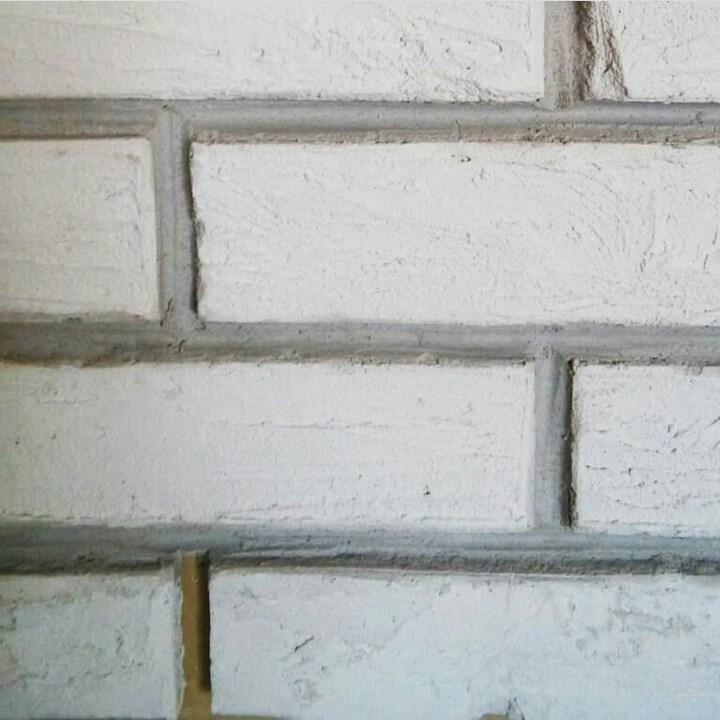 Кирпичная стена своими руками 4