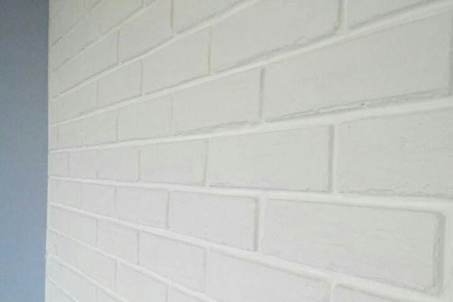 Кирпичная стена своими руками