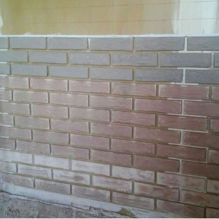 Кирпичная стена своими руками 3
