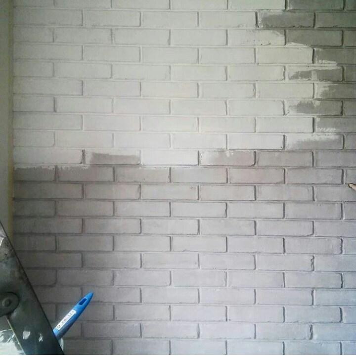 Кирпичная стена своими руками 5